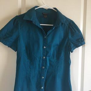 Banana Republic Teal Shirt or Jacket